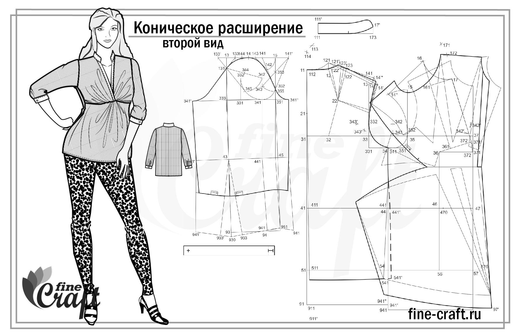 Эскизы одежды в корел 4